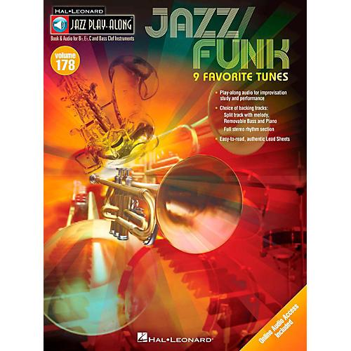 Hal Leonard Jazz/Funk - Jazz Play-Along Volume 178 Book/Online Audio-thumbnail