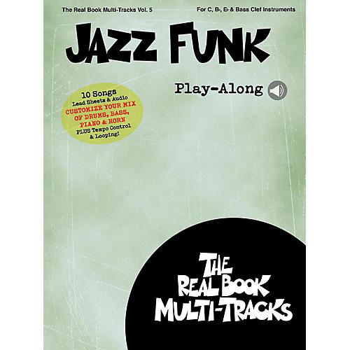 Hal Leonard Jazz Funk Play-Along - Real Book Multi-Tracks Vol. 5