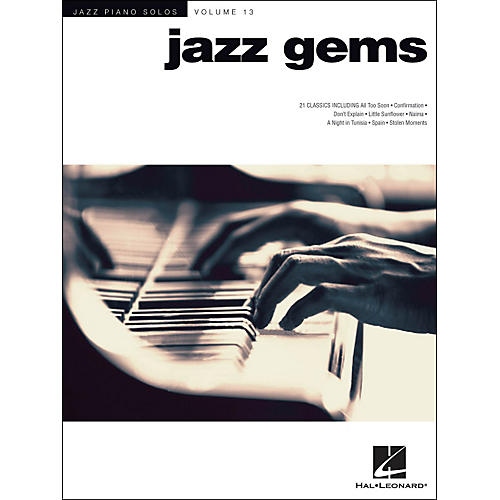 Hal Leonard Jazz Gems Jazz Piano Solos Series Volume 13