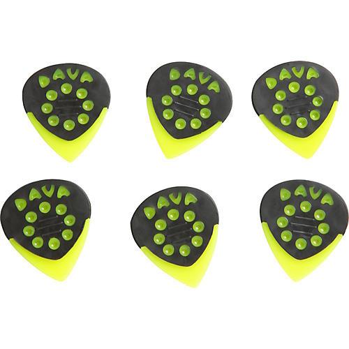 Dava Jazz Grip Nylon Small 6-Pack Light Green