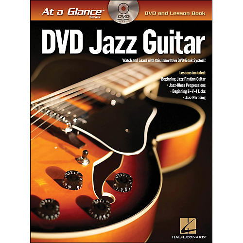 Hal Leonard Jazz Guitar - At A Glance (Book/DVD)