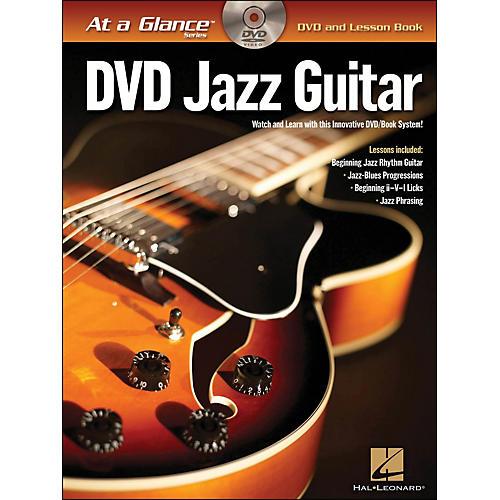 Hal Leonard Jazz Guitar - At A Glance (Book/DVD)-thumbnail