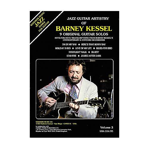 Ashley Mark Jazz Guitar Artistry of Barney Kessel Volume 3 Tab Book-thumbnail