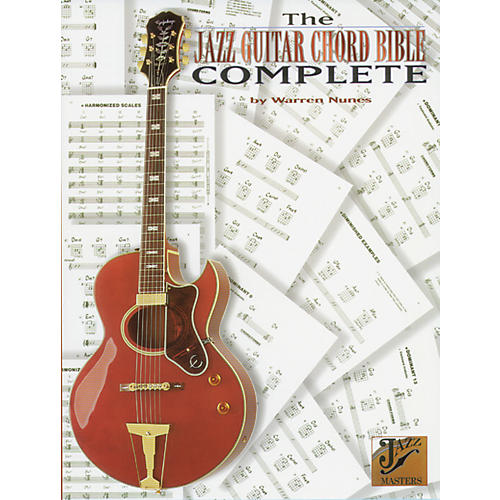 Alfred Jazz Guitar Chord Bible Book-thumbnail