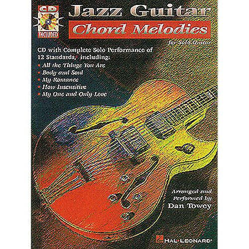Hal Leonard Jazz Guitar Chord Melodies Guitar Tab Songbook with CD-thumbnail