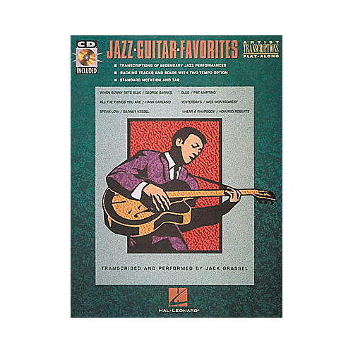 Hal Leonard Jazz Guitar Favorites (Book and CD)-thumbnail