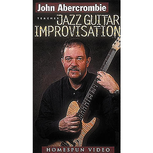 Hal Leonard Jazz Guitar Improvisation Video