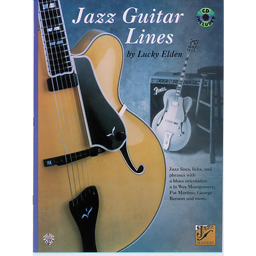 Alfred Jazz Guitar Lines Book/CD-thumbnail