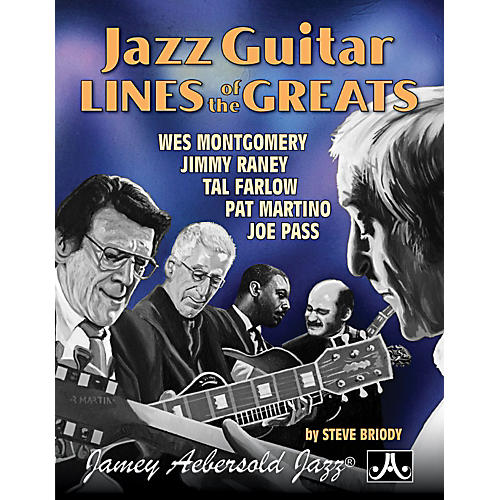 Jamey Aebersold Jazz Guitar Lines of The Greats