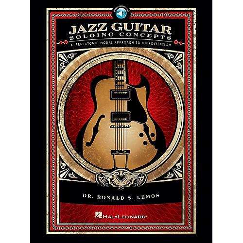 Hal Leonard Jazz Guitar Soloing Concepts - A Pentatonic Modal Approach to Improvisation (Book/CD)-thumbnail