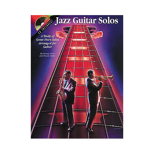 Centerstream Publishing Jazz Guitar Solos Tab Trascriptions Book with CD