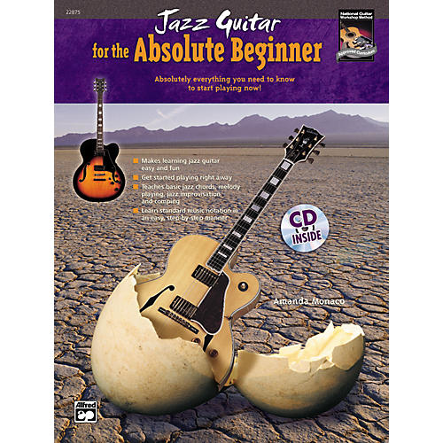 Alfred Jazz Guitar for the Absolute Beginner Book/CD Set-thumbnail