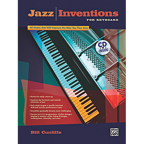 Alfred Jazz Inventions for Keyboard Book & CD-thumbnail