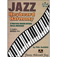 Jamey Aebersold Jazz Keyboard Harmony Book and CD