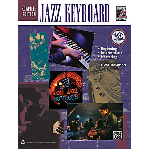 Alfred Jazz Keyboard Method Complete Book & CD-thumbnail