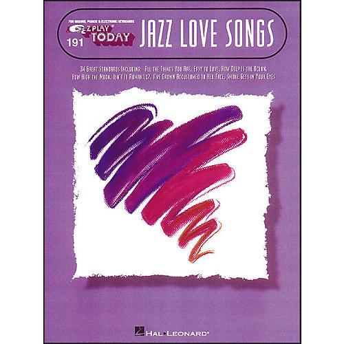 Hal Leonard Jazz Love Songs E-Z Play 191-thumbnail