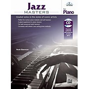 Alfred Jazz Masters for Piano - Book & CD