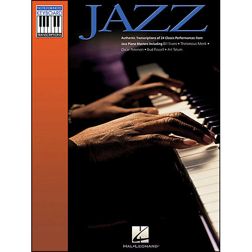 Hal Leonard Jazz Note-for-Note Keyboard Transcriptions