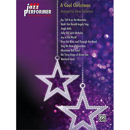 Alfred Jazz Performer: A Cool Christmas Early Advanced Piano Book-thumbnail