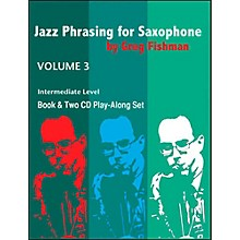 Jamey Aebersold Jazz Phrasing For Saxophone Vol.3