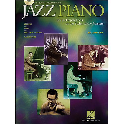 Hal Leonard Jazz Piano Book/CD An In-Depth Look At The Styles Of The Masters-thumbnail