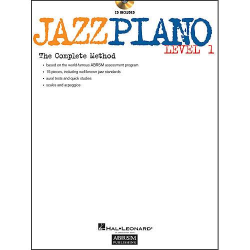 Hal Leonard Jazz Piano Level 1 Book/CD Abrsm