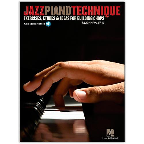 Hal Leonard Jazz Piano Technique - Exercises, Etudes & Ideas For Building Chops (Book/Online Audio)-thumbnail