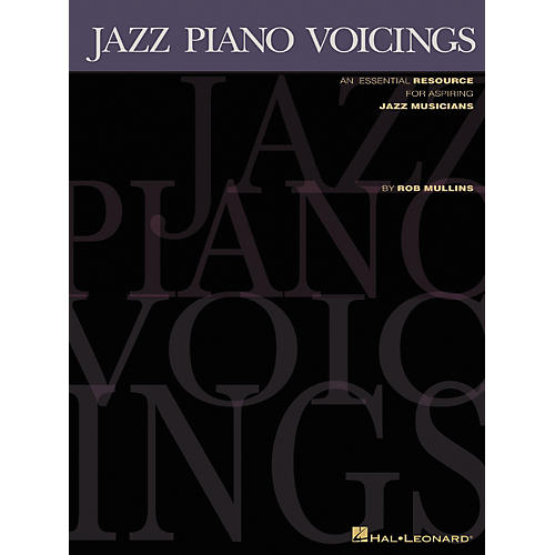 Hal Leonard Jazz Piano Voicings Keyboard Book