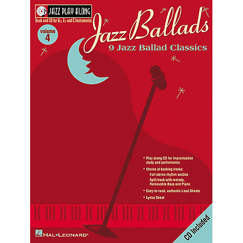 Hal Leonard Jazz Play-Along Series Jazz Ballads Book with CD-thumbnail
