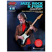 Musicians Institute Jazz, Rock & Funk Guitar - Modern Techniques for the Electric Guitarist Private Lessons Series Book/Audio Online