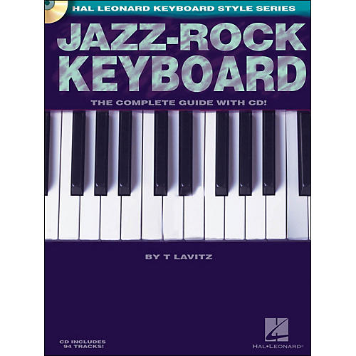 Hal Leonard Jazz-Rock Keyboard Book/CD-thumbnail