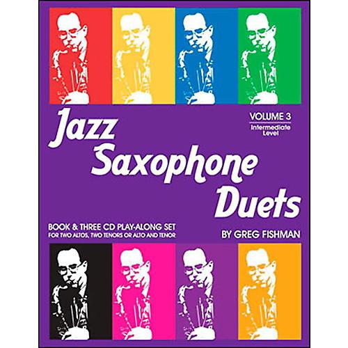 Jamey Aebersold Jazz Saxophone Duets Vol. 3