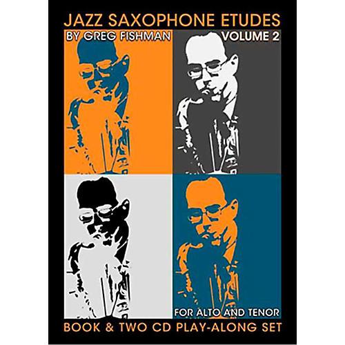 Jamey Aebersold Jazz Saxophone Etudes Vol. 2