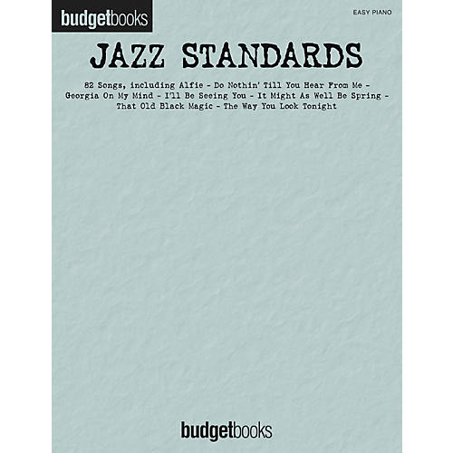 Hal Leonard Jazz Standards - Budget Book Series For Easy Piano-thumbnail