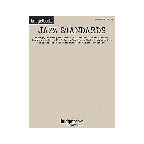 Hal Leonard Jazz Standards Budget Piano, Vocal, Guitar Songbook-thumbnail