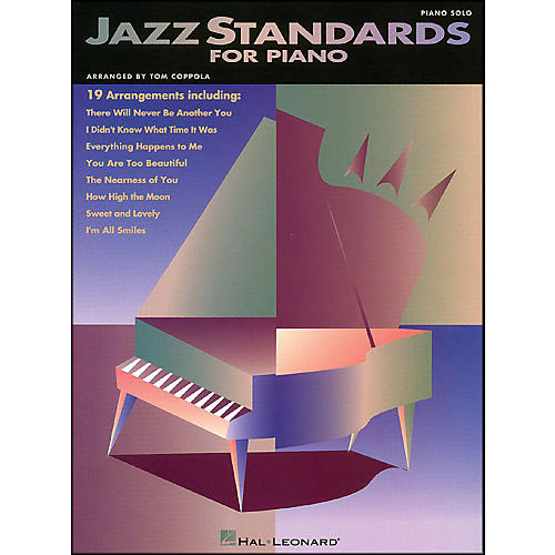 Hal Leonard Jazz Standards for Piano arranged for piano solo-thumbnail