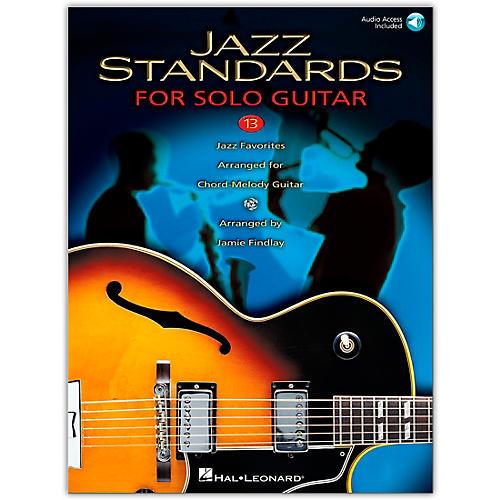 Hal Leonard Jazz Standards for Solo Guitar (Book/Online Audio)