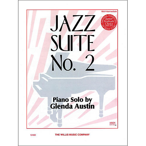 Willis Music Jazz Suite Number Two Mid-Intermediate Piano Solo