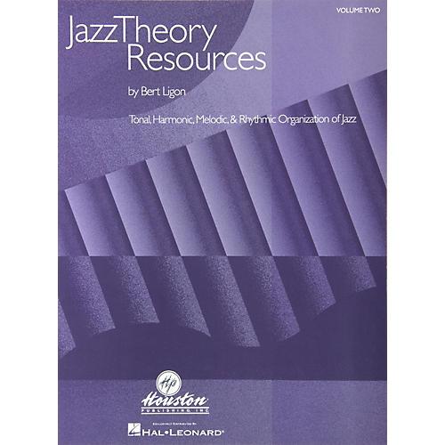 Houston Publishing Jazz Theory Resources Volume 2 Book-thumbnail