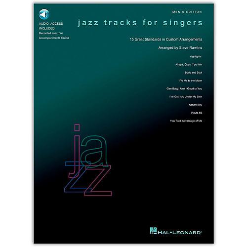 Hal Leonard Jazz Tracks for Singers - Men's Edition (Book/Online Audio)-thumbnail