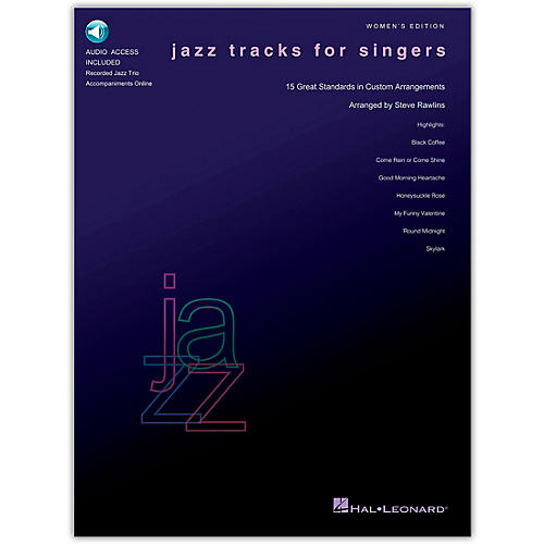 Hal Leonard Jazz Tracks for Singers - Women's Edition (Book/Online Audio)-thumbnail