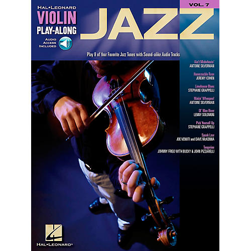 Hal Leonard Jazz Violin Play-Along Volume 7 Book/CD-thumbnail
