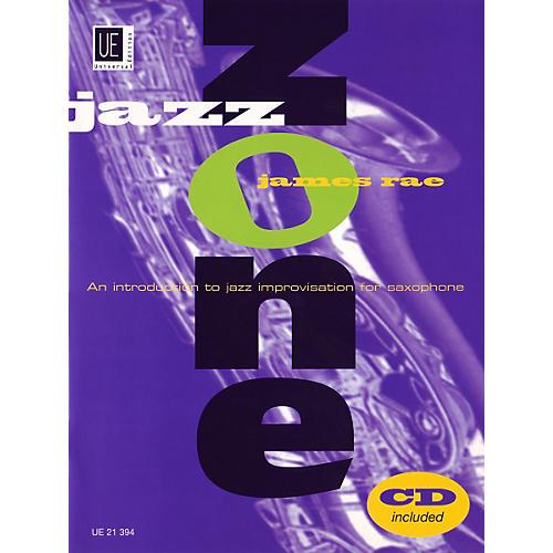 Theodore Presser Jazz Zone - Saxophone (Book/CD)