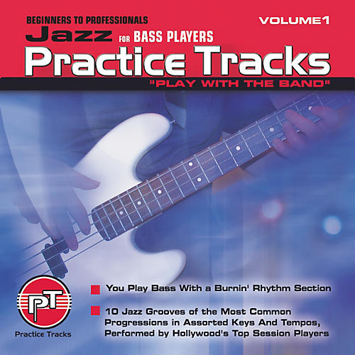 Practice Tracks Jazz for Bass Players (CD)-thumbnail