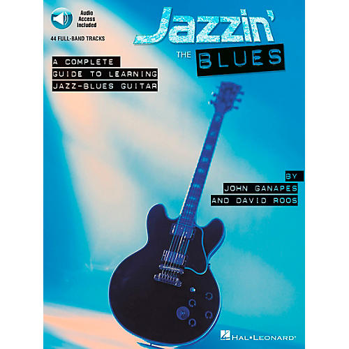 Hal Leonard Jazz'n The Blues A Complete Guide to Learning Jazz-Blues Guitar (Book/CD)-thumbnail