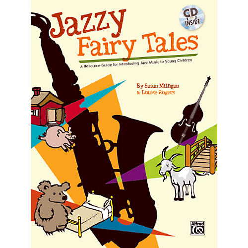 Alfred Jazzy Fairy Tales Book & CD-thumbnail