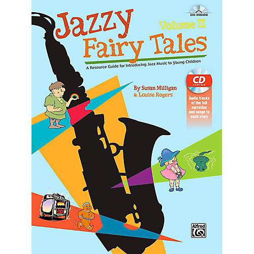 Alfred Jazzy Fairy Tales, Volume II - Book & CD-thumbnail