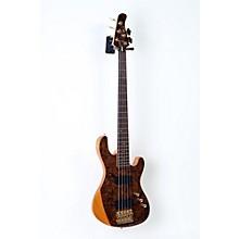 Jeff Berlin Series Rithimic V Bass Guitar Level 2 Gloss Natural, Rosewood 190839021830