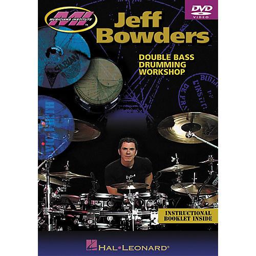Hal Leonard Jeff Bowders - Double Bass Drumming Workshop DVD-thumbnail