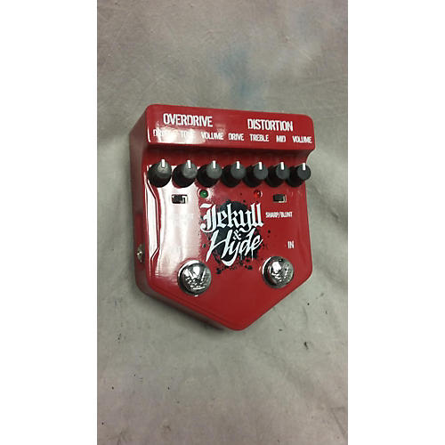 Visual Sound Jekyll & Hyde Overdrive Effect Pedal